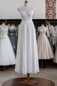 SANDRA ecru suknia ślubna Madleine Poznań